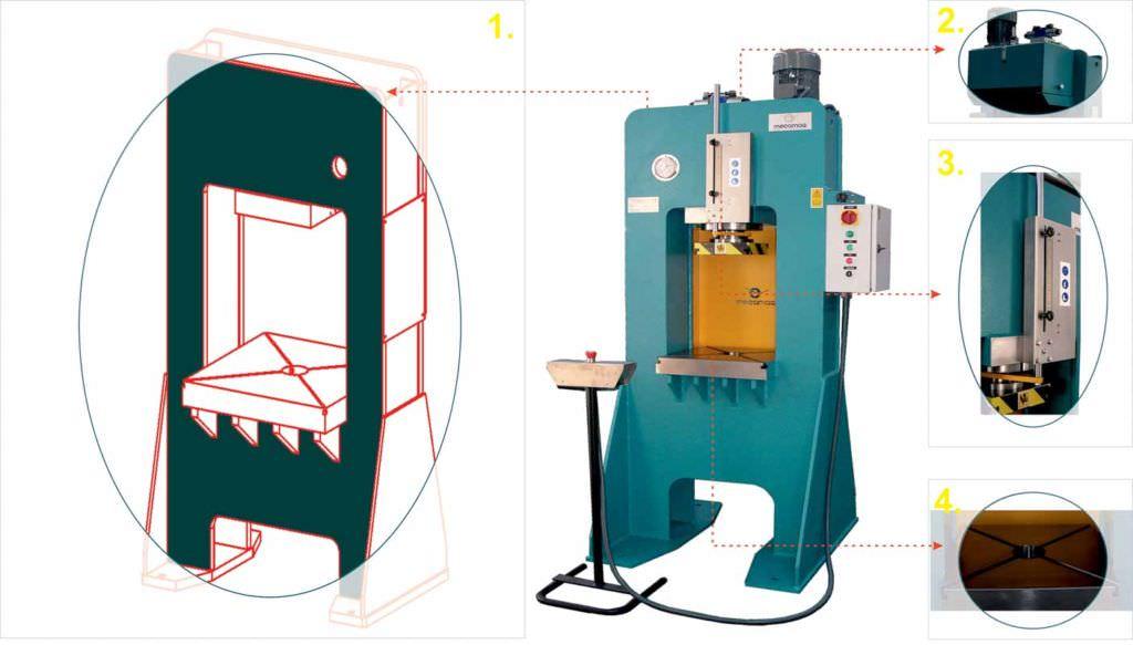 W Ultra Prasa hydrauliczna | Prasa hydrauliczna, giętarka do rur i profili XJ42